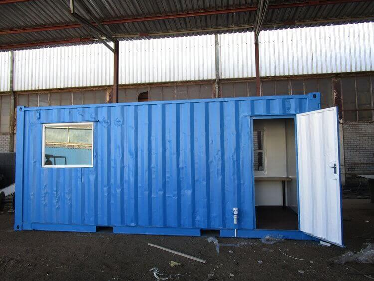 Blue Shipping Container | Container Rental & Sales 6544