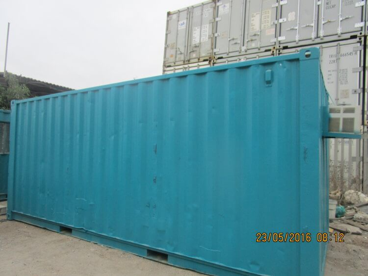 Light Blue Shipping Container | Container Rental & Sales 185