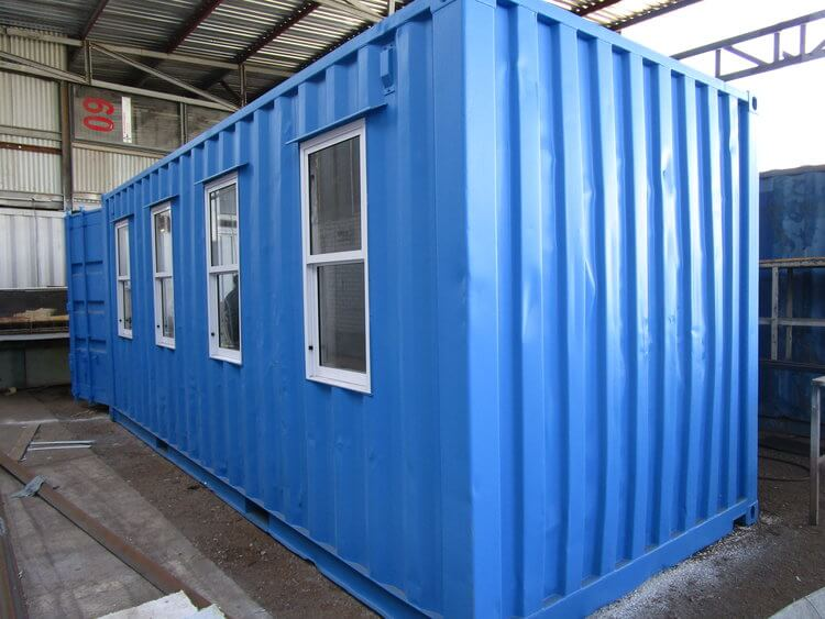 Large Blue Shipping Container | Container Rental & Sales 211