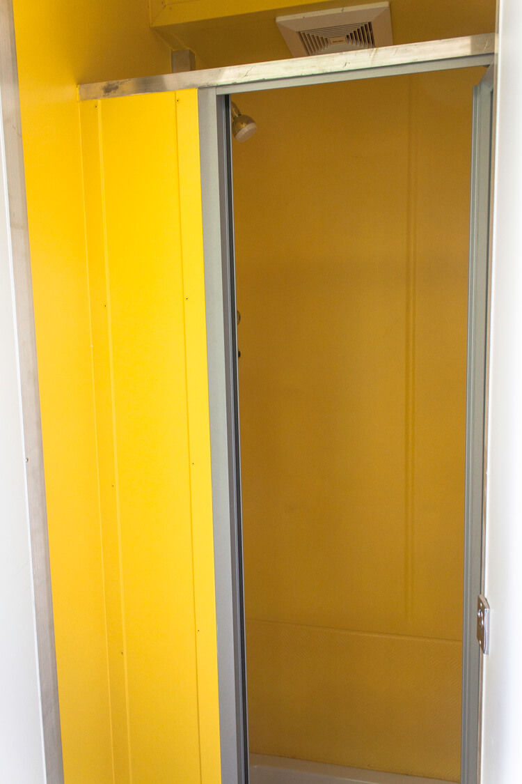 Yellow Wall Shipping Container | Container Rental & Sales