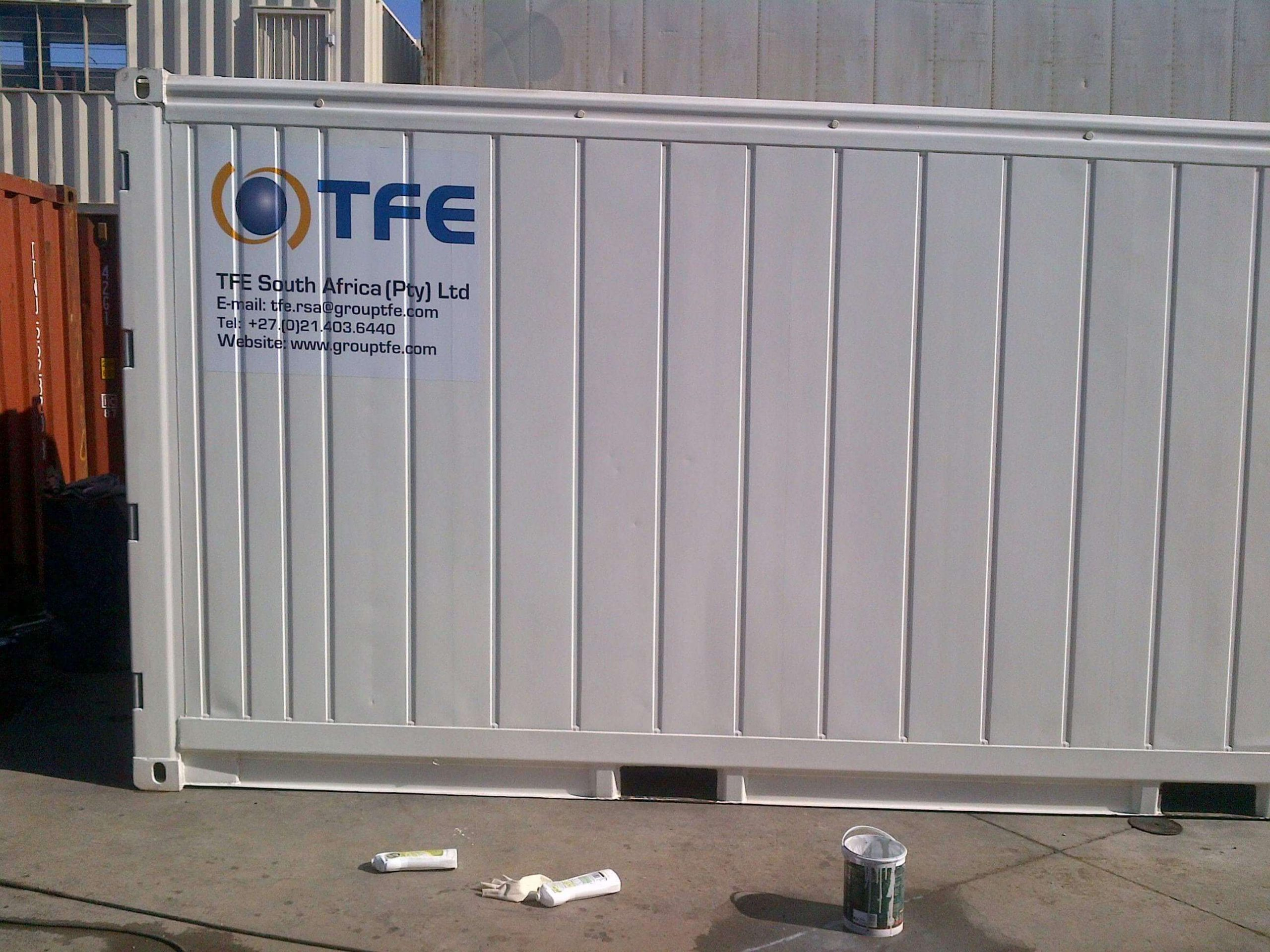 White Shipping Container | Container Rental & Sales 021