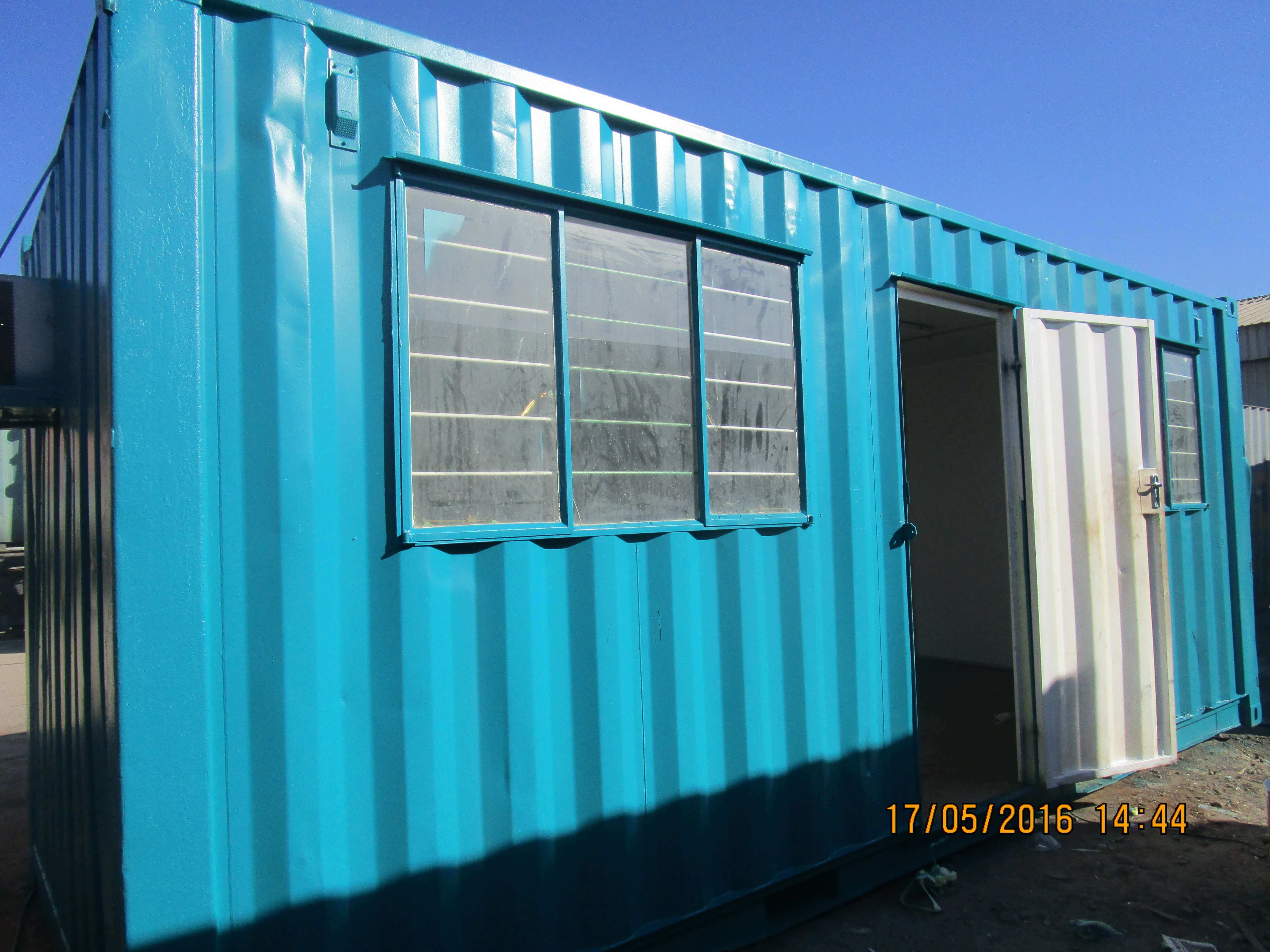 Office Front View | Container Rental & Sales