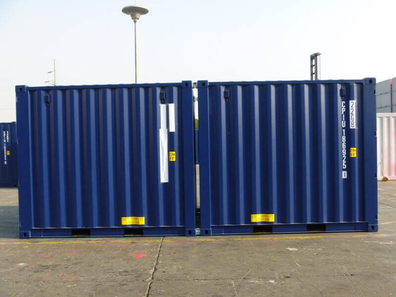 Navy Shipping Containers for Sale