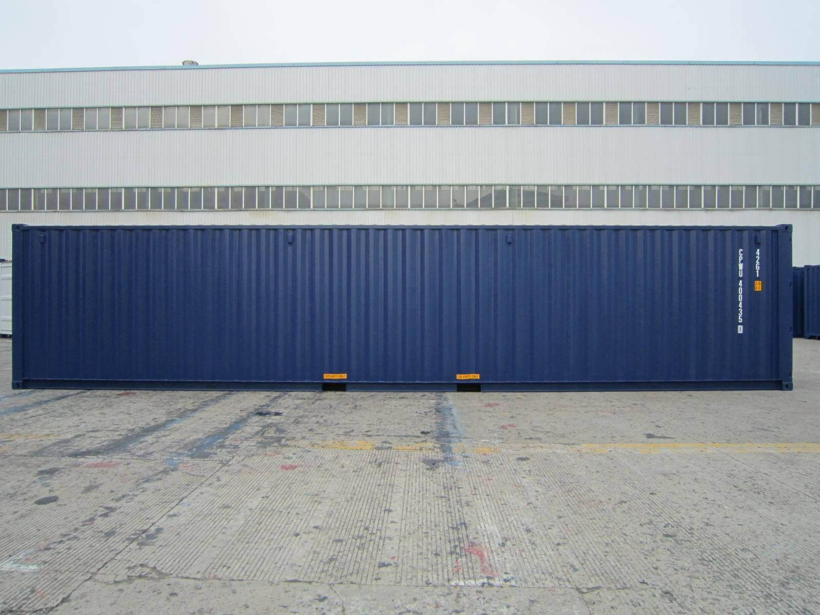 Navy Blue Shipping Containers For Sale