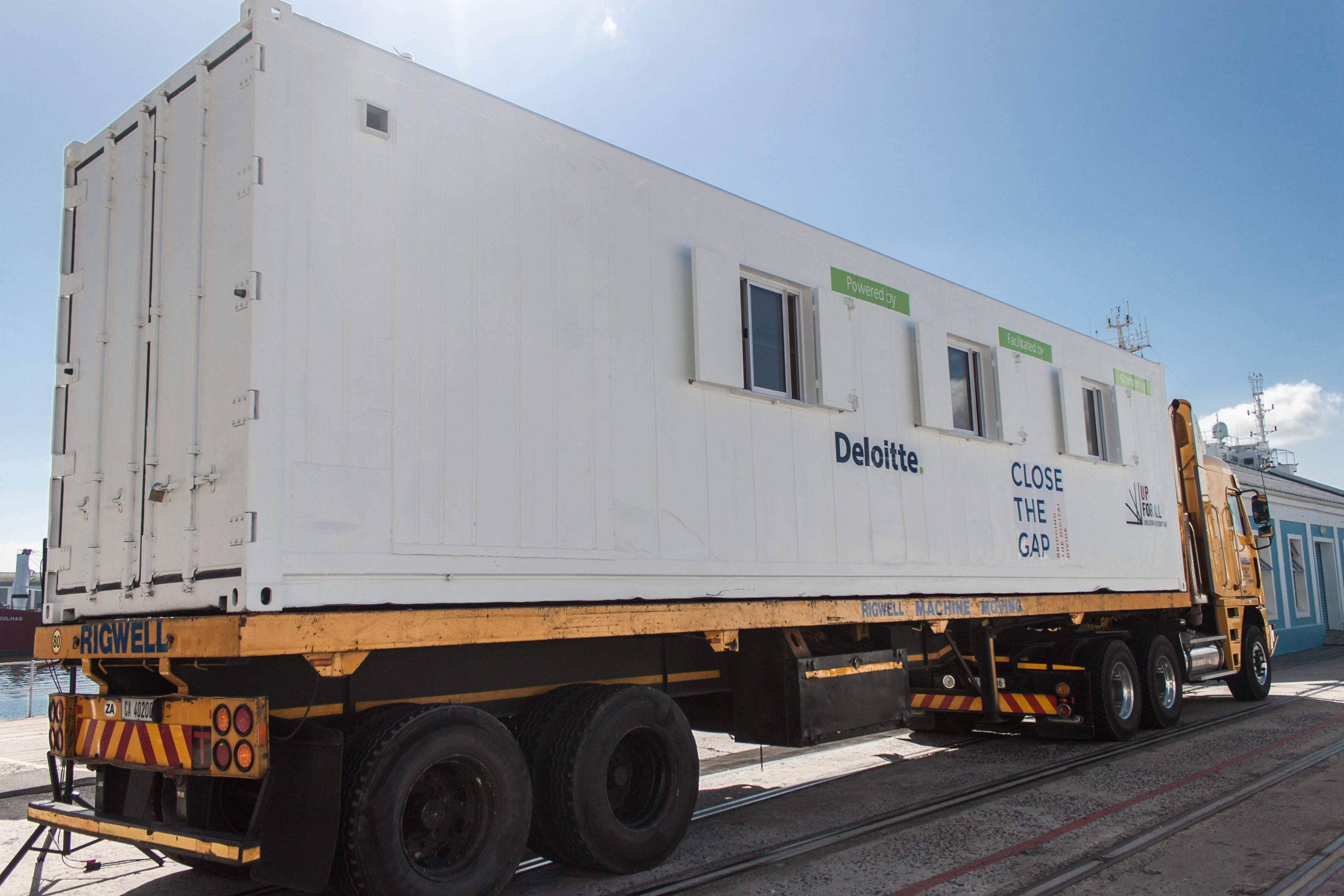 Track Carrying Container | Container Rental & Sales
