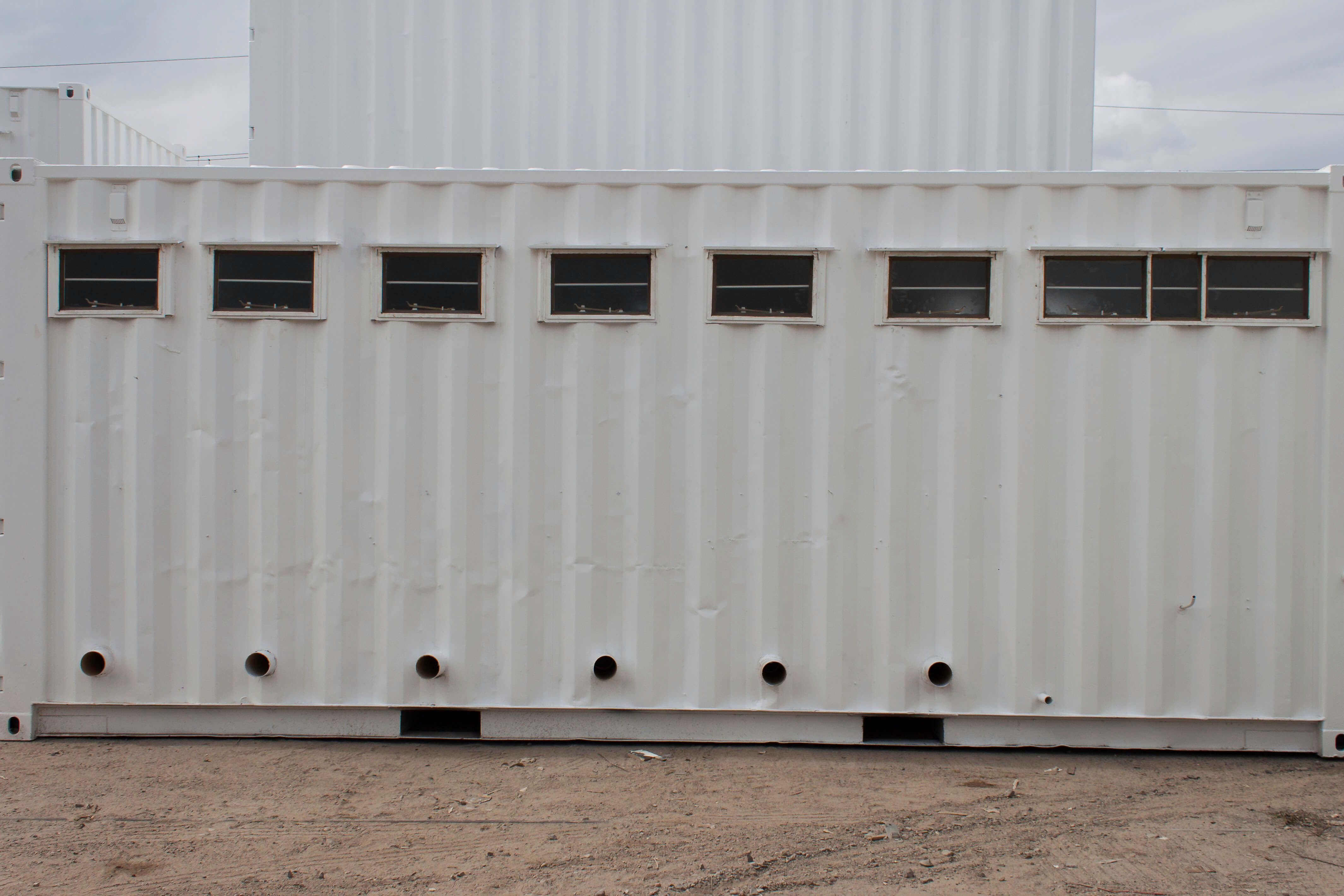Portable ablution blocks - Container Rental & Sales