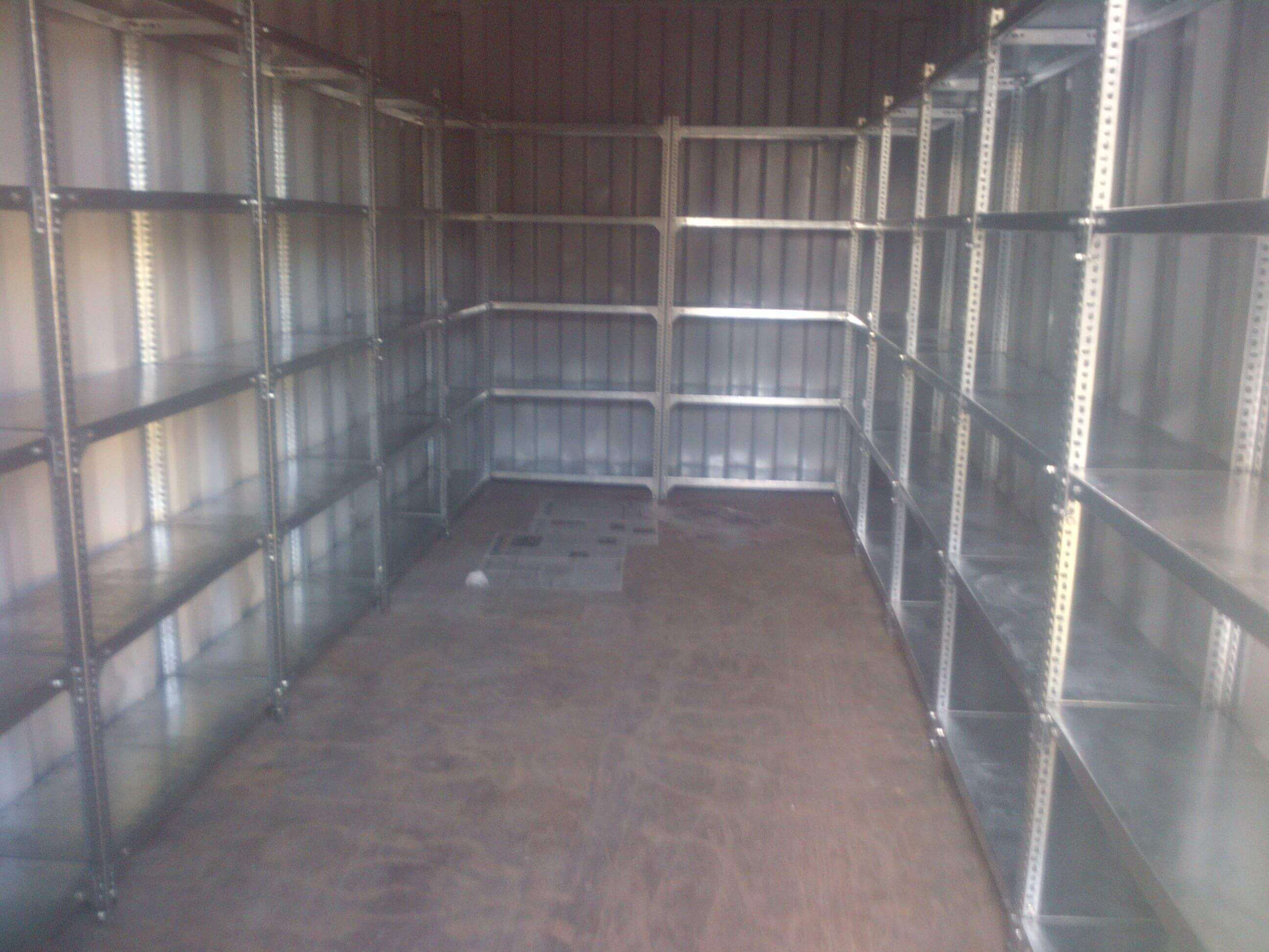 Shipping Container With Fitted Shelvings | Container Rental & Sales 012