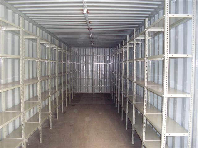 Shipping Container With Fitted Shelvings | Container Rental & Sales 010