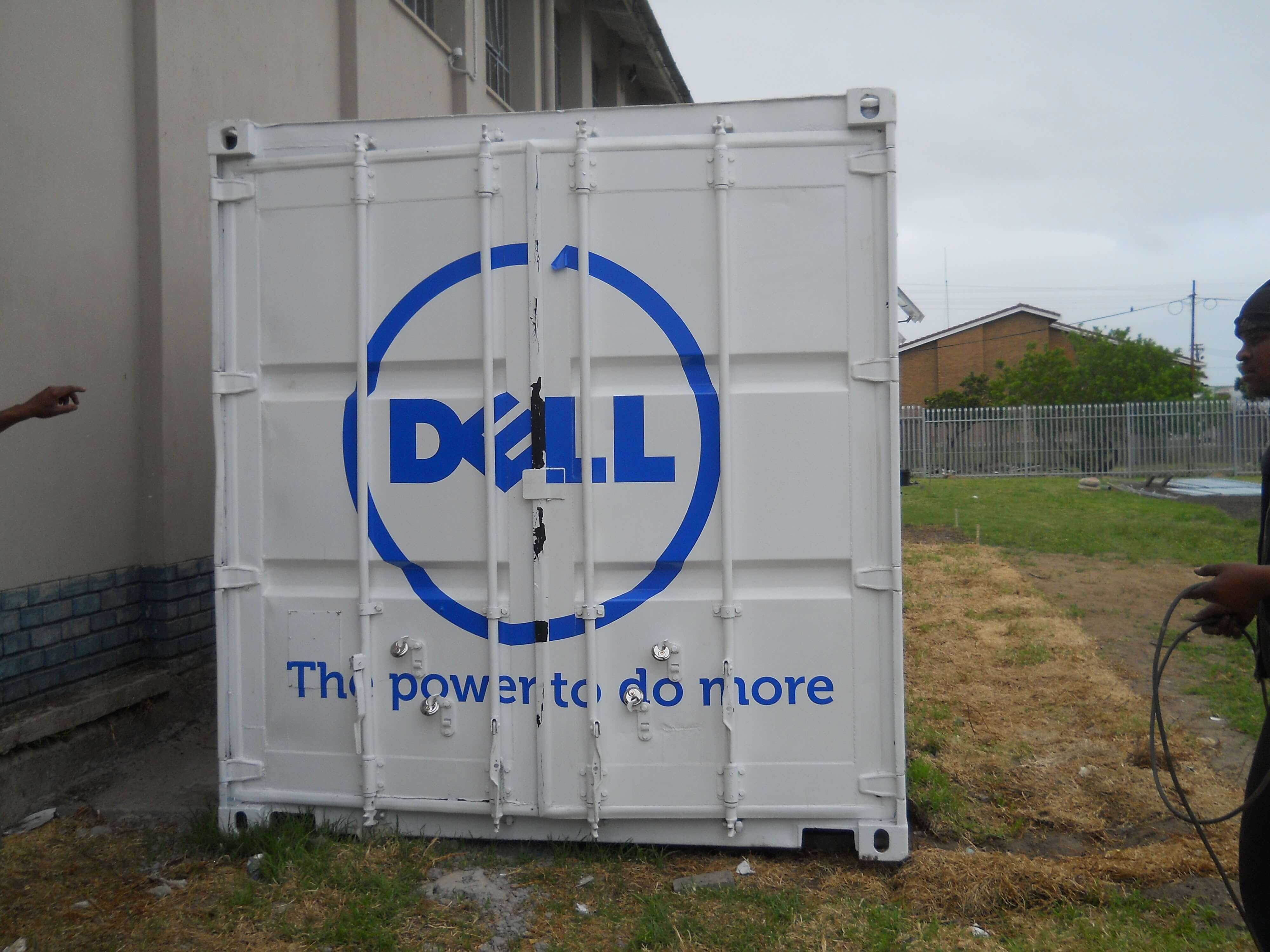 Dell Painted Shipping Container | Container Rental & Sales
