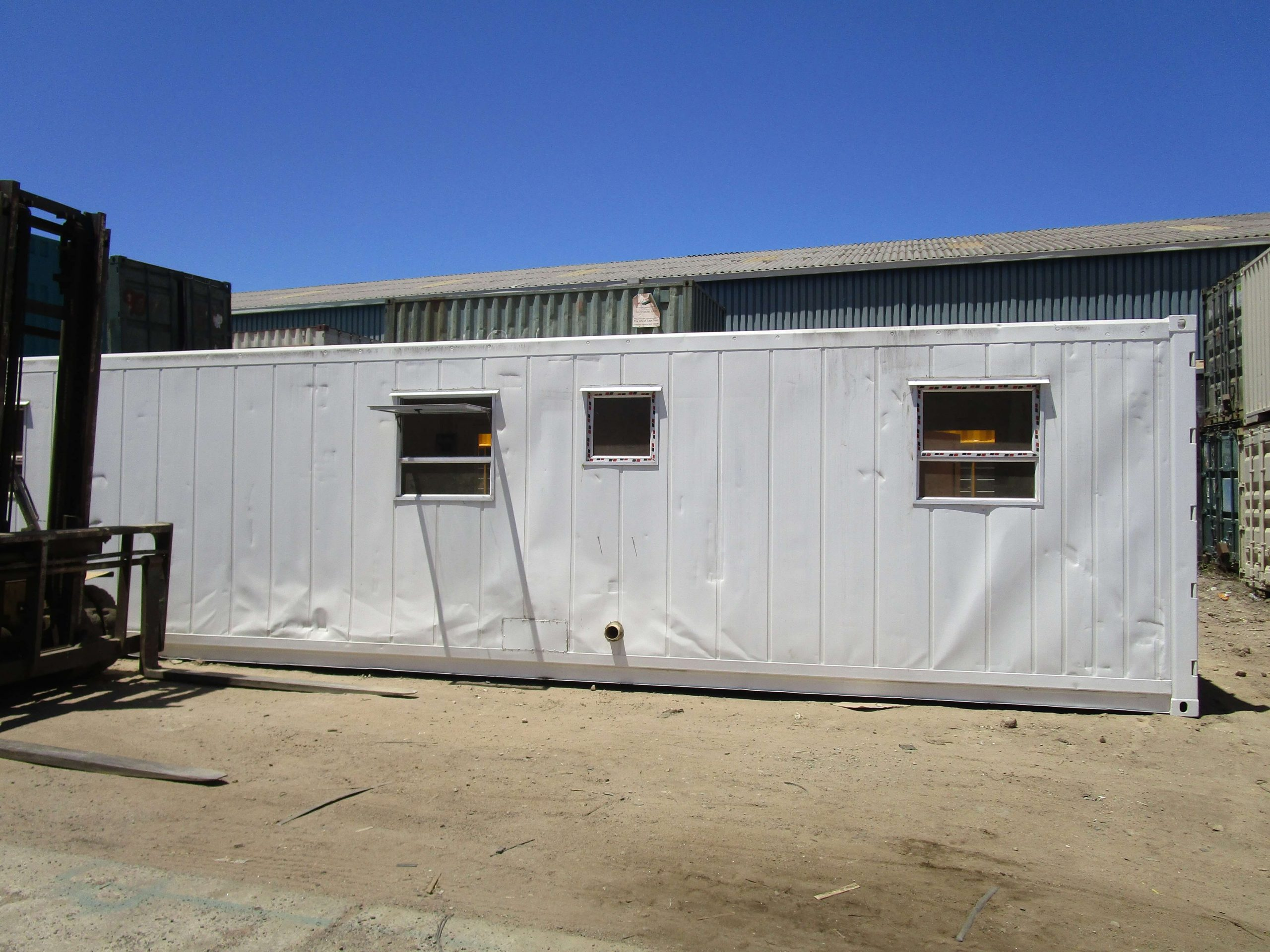 Home Container Outdoor View | Container Rental & Sales