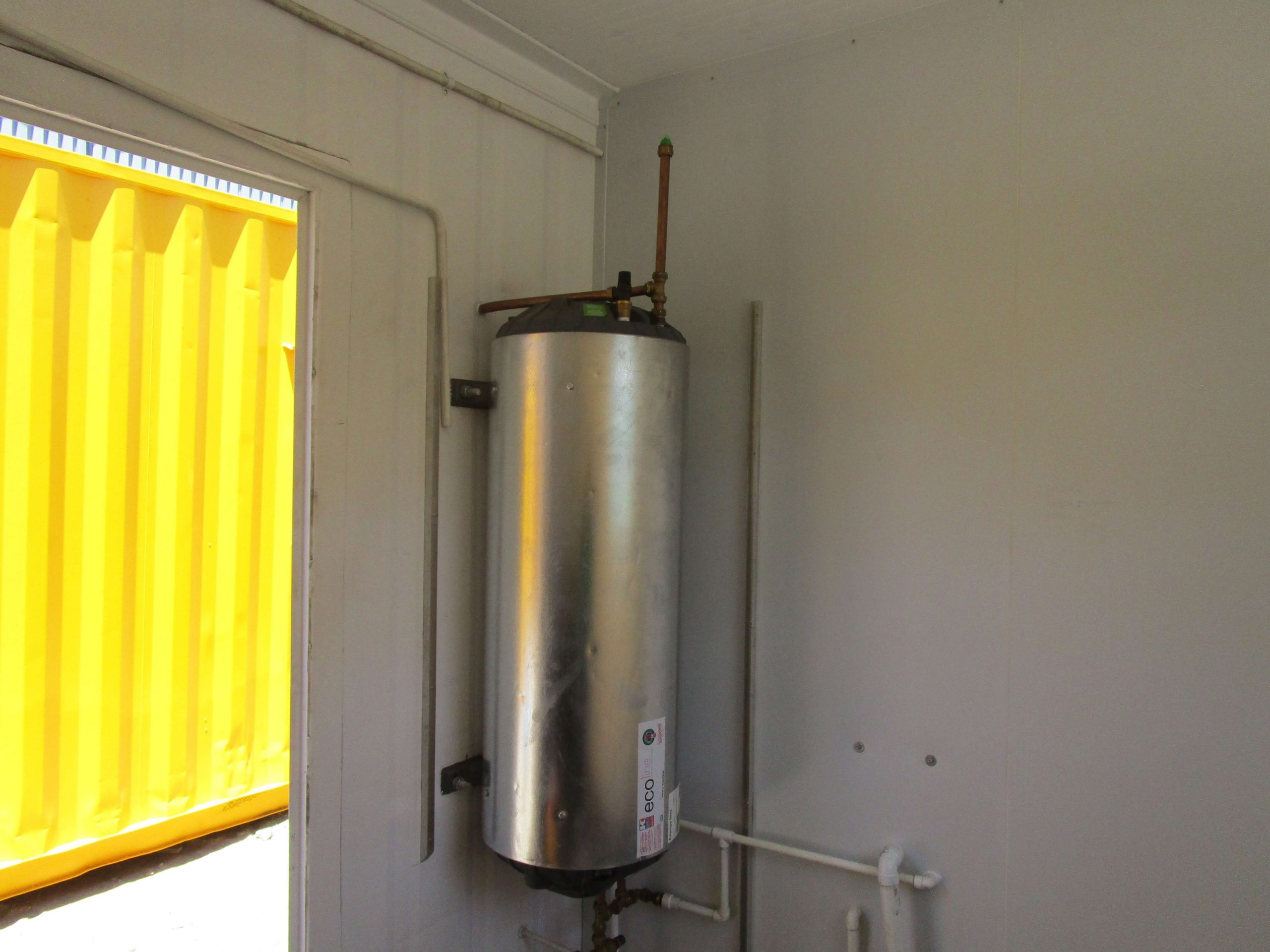 Container With Fitted Geyser | Container Rental & Sales
