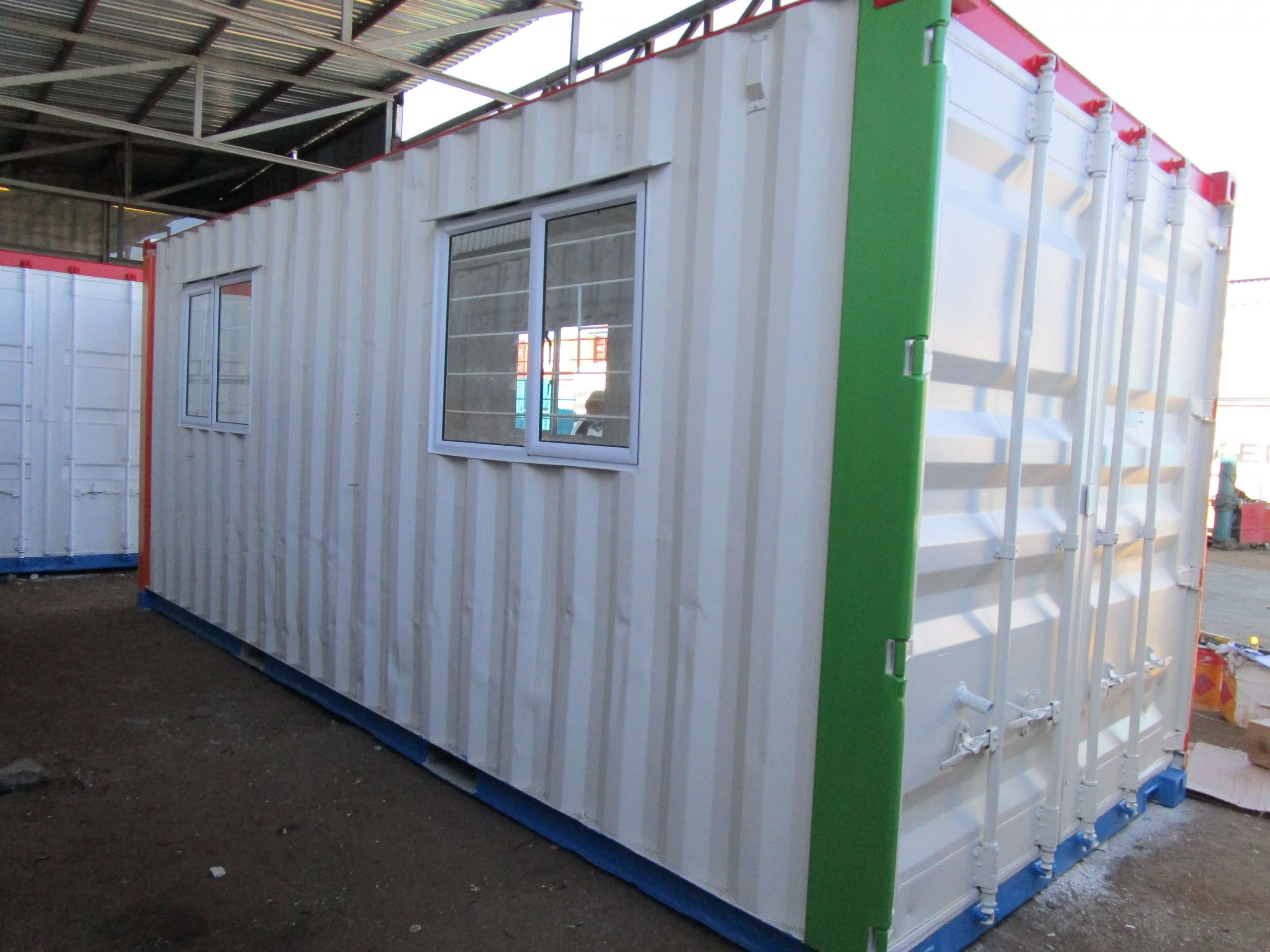 Container With Windows | Container Rental & Sales