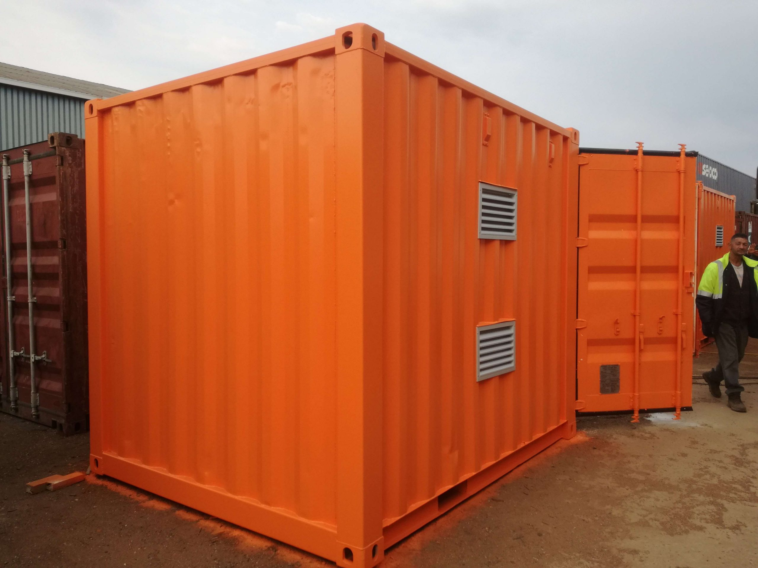 Convert your container - Container Rental & Sales