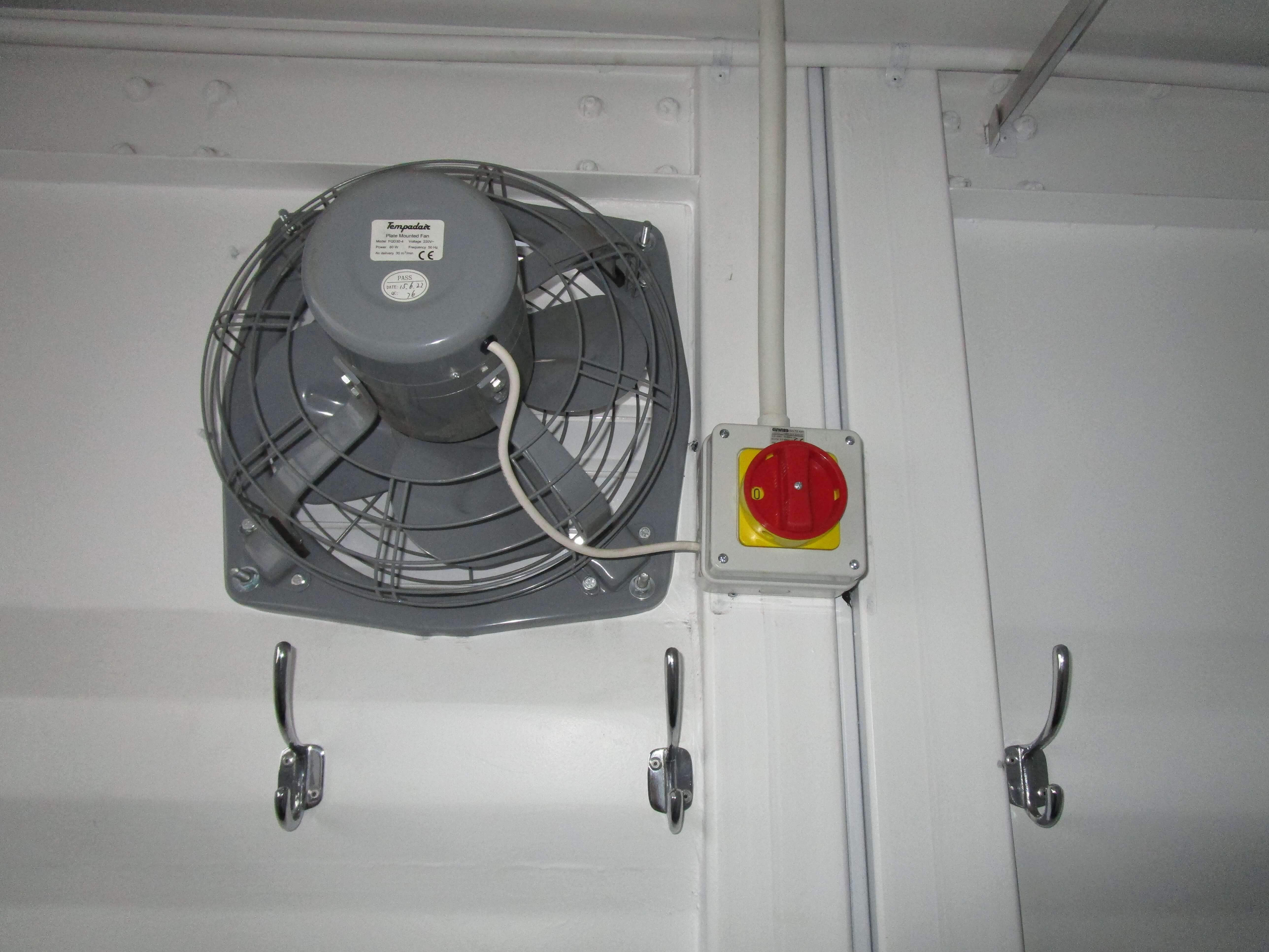 Container With Fan System | ContainerRental & Sales