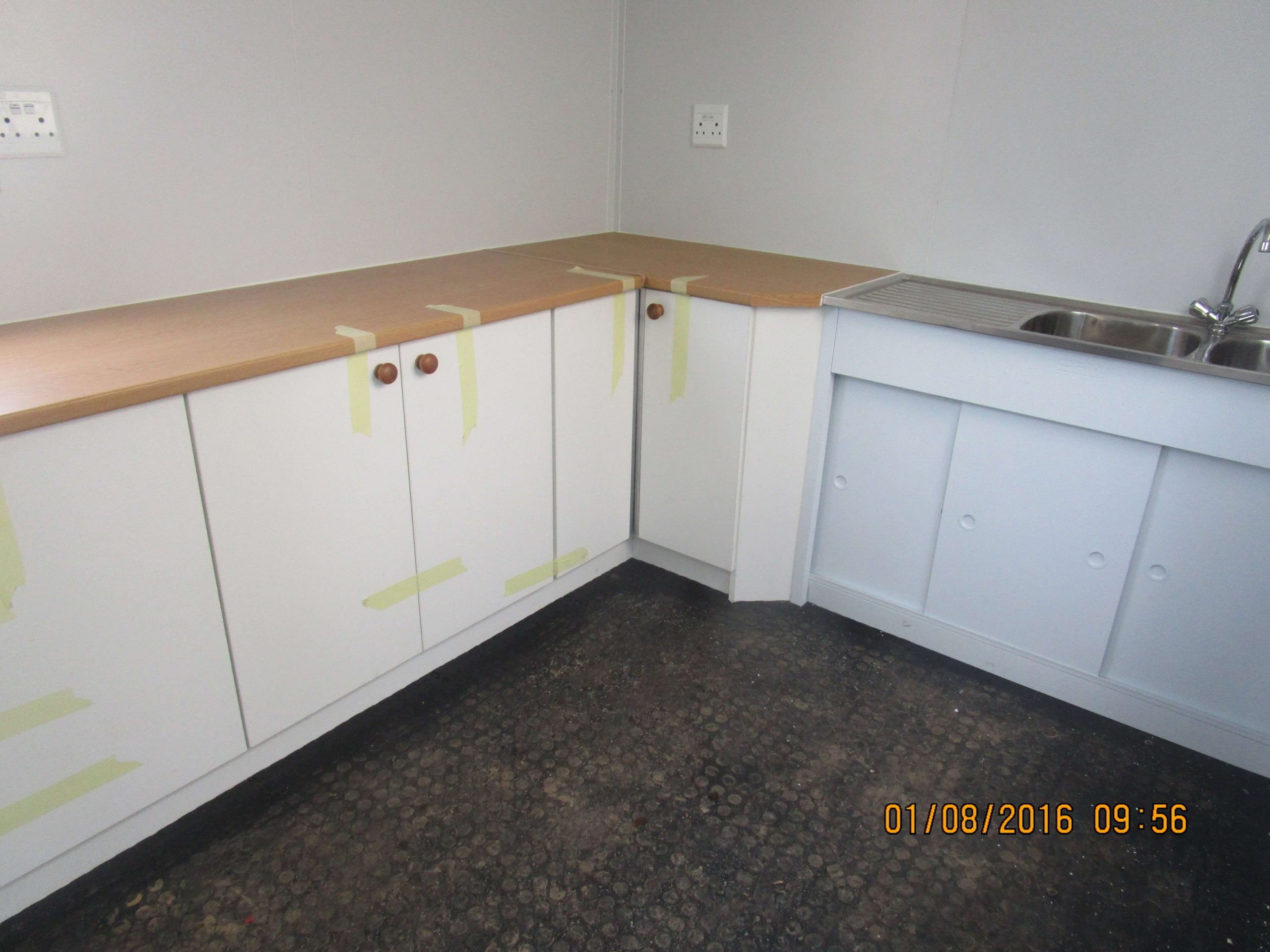Container With Fitted Kitchen Unit | Container Rental & Sales