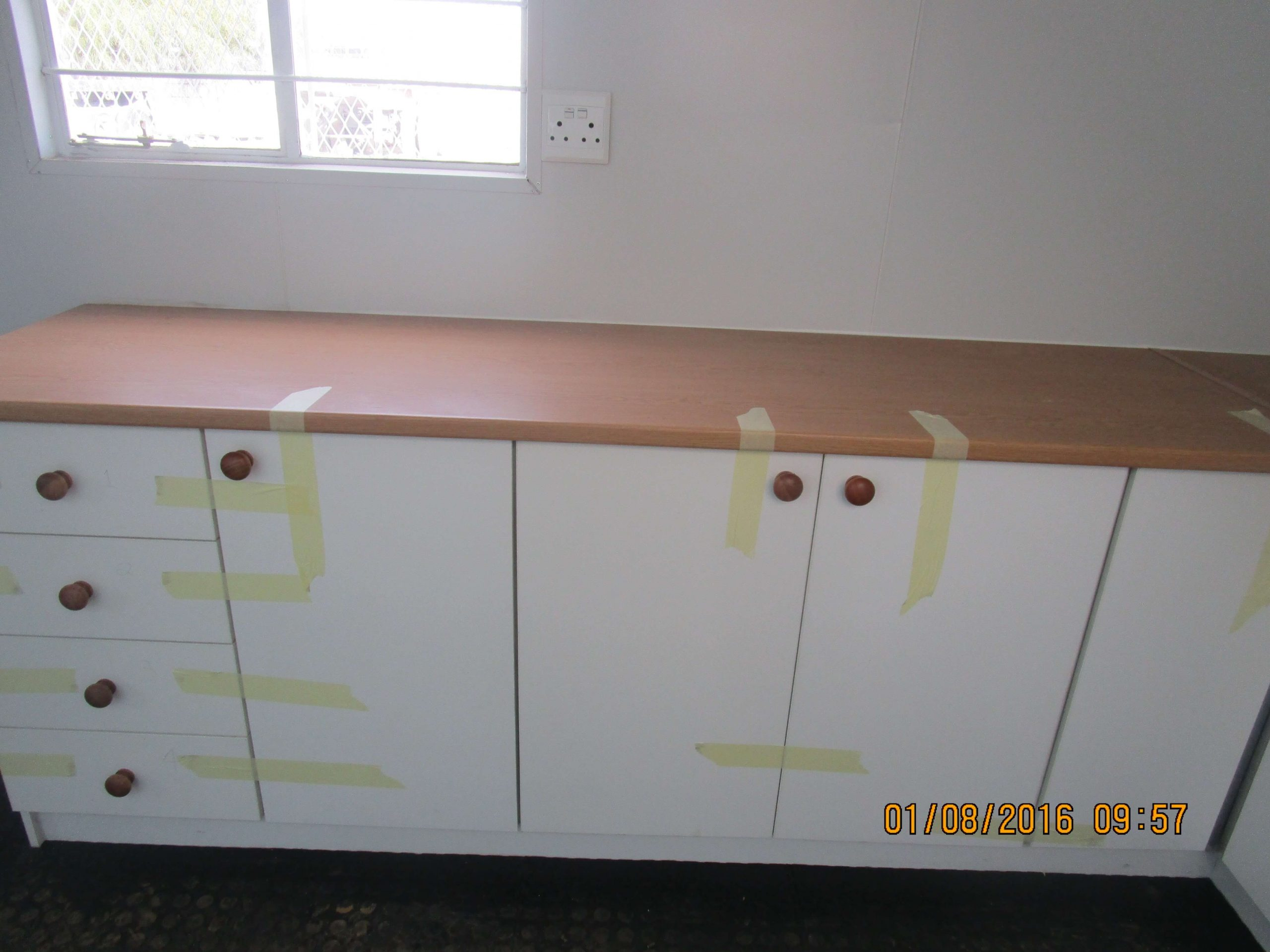 Container With Fitted Cupboards | Container Rental & Sales