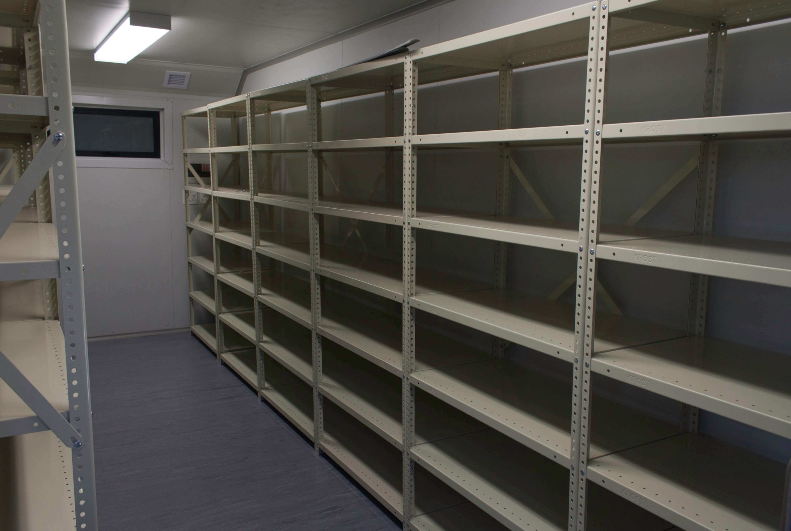 Container With Fitted Shelving | Container Rental & Sales