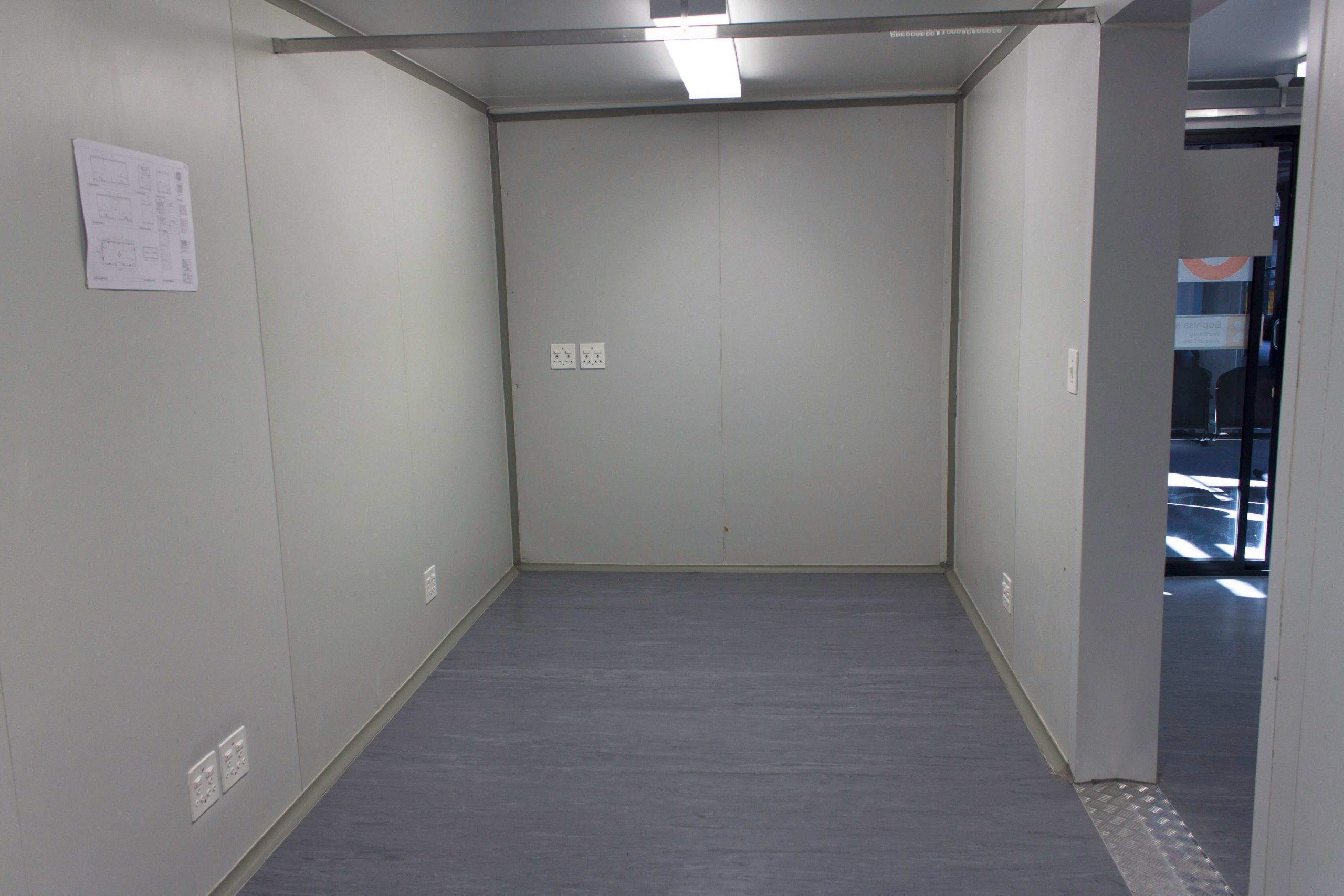 Office Shipping Container Internal View | Container Rental & Sales 111