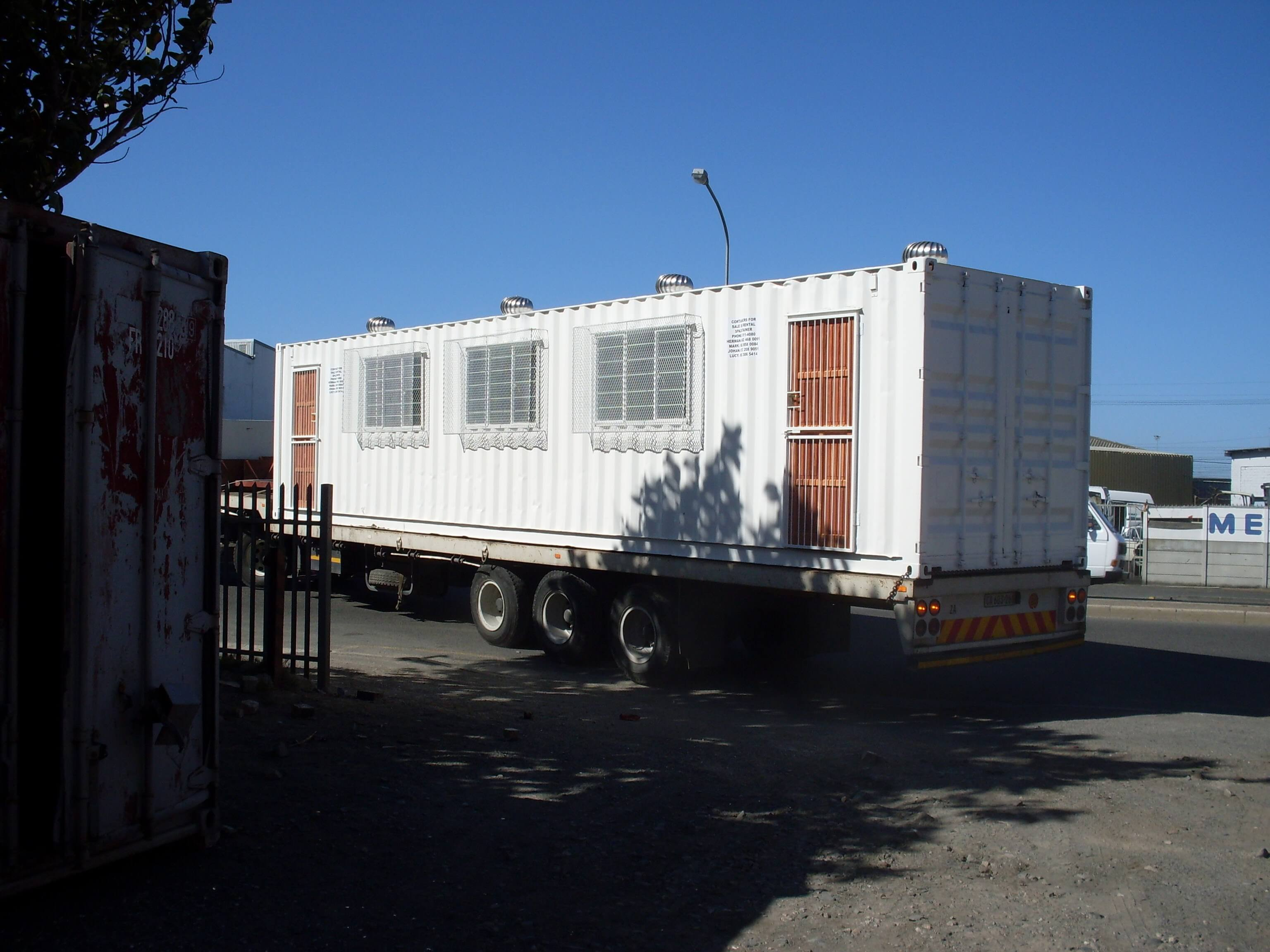Moving Container Rental & Sales
