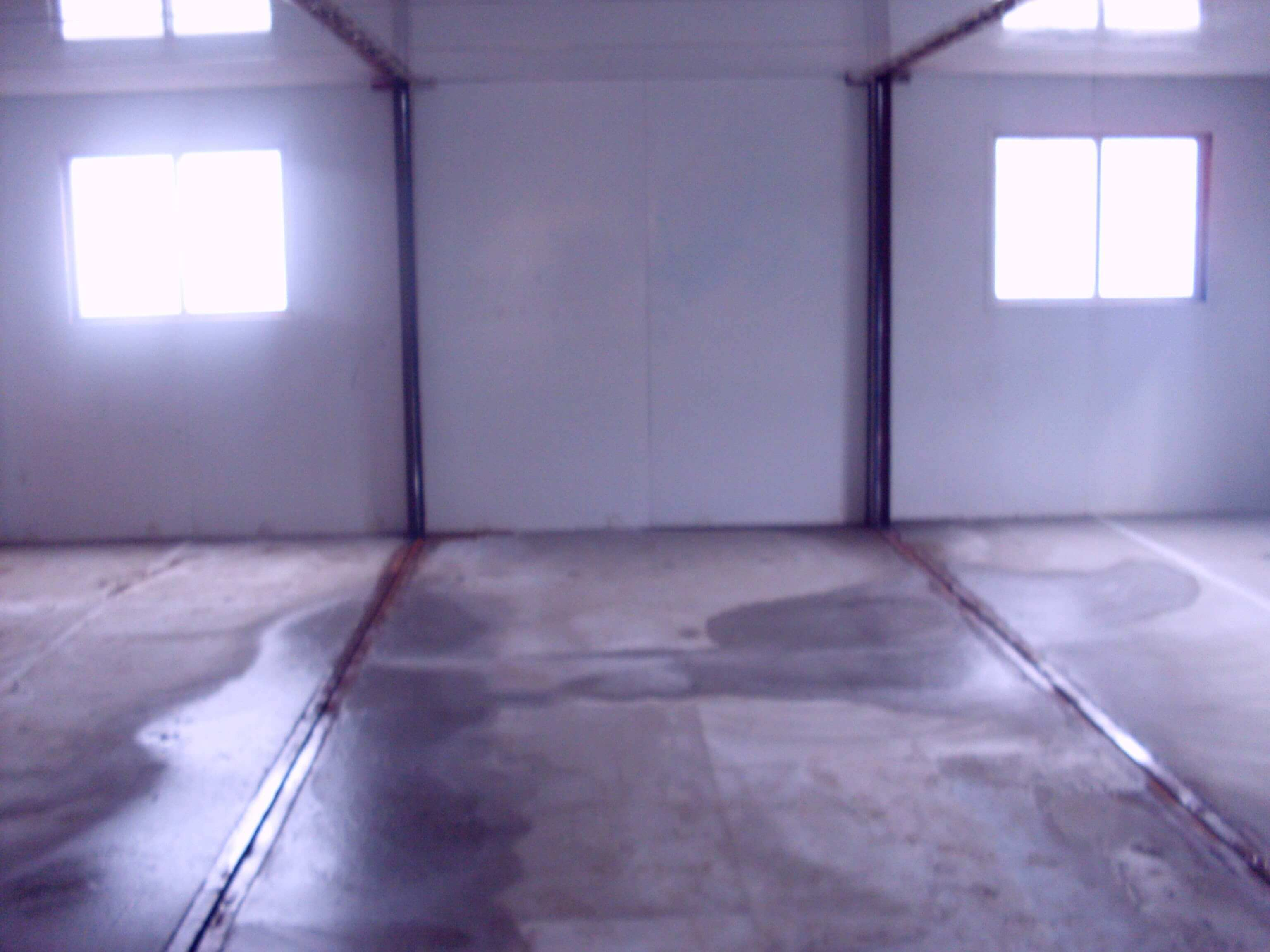 Office Shipping Container Internal View   Container Rental & Sales 020