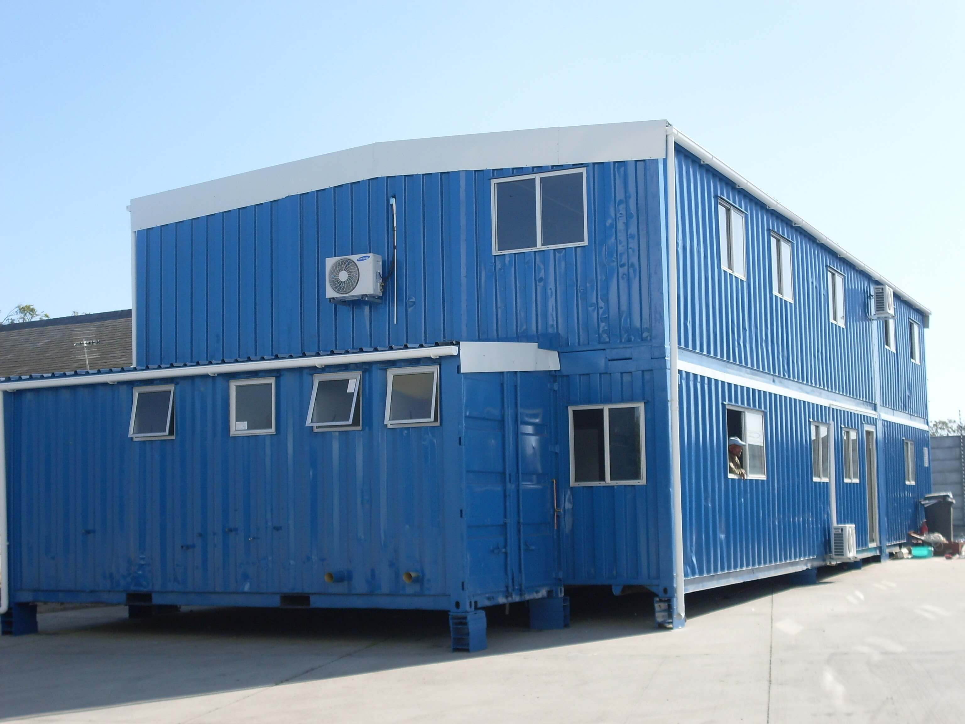 Double Storey Building Container | Container Rental & Sales