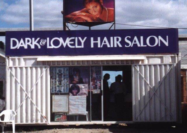 Shipping container hair salon - Container Rental & Sales