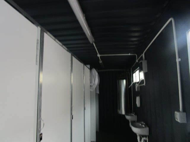 Ablution blocks and change rooms - Container Rental & Sales